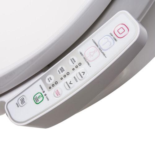 Clear Water Bidets, Novita BN-330 Bidet Toilet Seat control panel