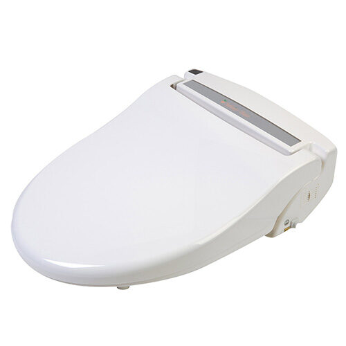 Clear Water Bidets, Infinity XLC-3000 Bidet Seat with lid closed angle view right
