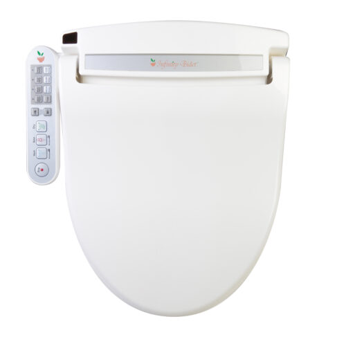 Clear Water Bidets, Infinity XLC-2000 Bidet Seat top view