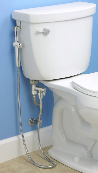 Aquaus 360 bidet toilet sprayer
